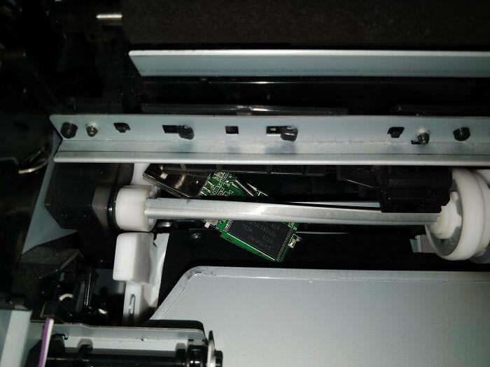 Alguien intentó imprimir desde un USB