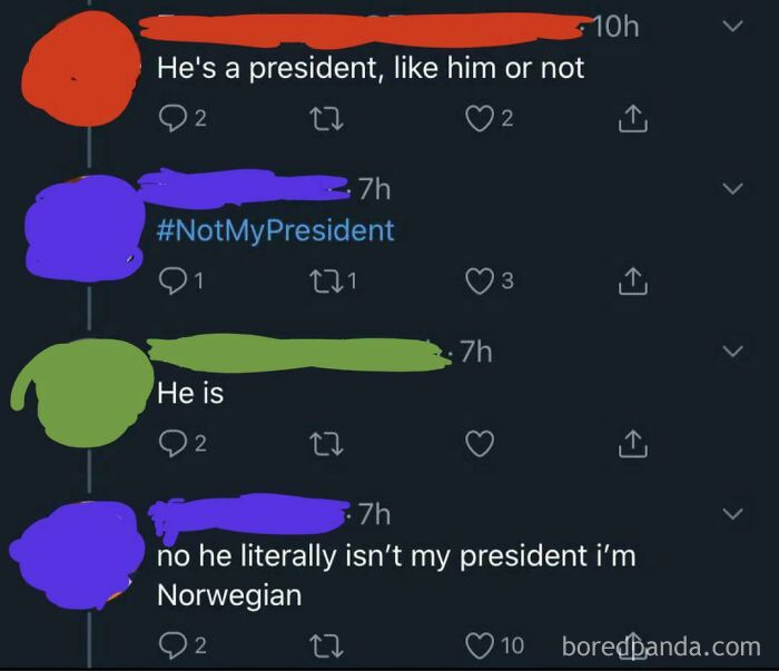 """""""He Is (Your President)"""""""