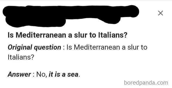 Is Mediterranean A Slur To Italians?