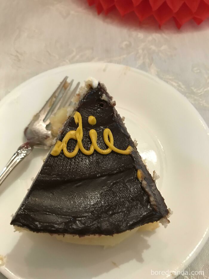 Mother-In-Law Just Served Me This Piece Of Cake...
