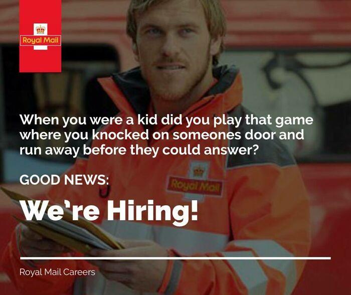 Career At Royal Mail, Anyone?