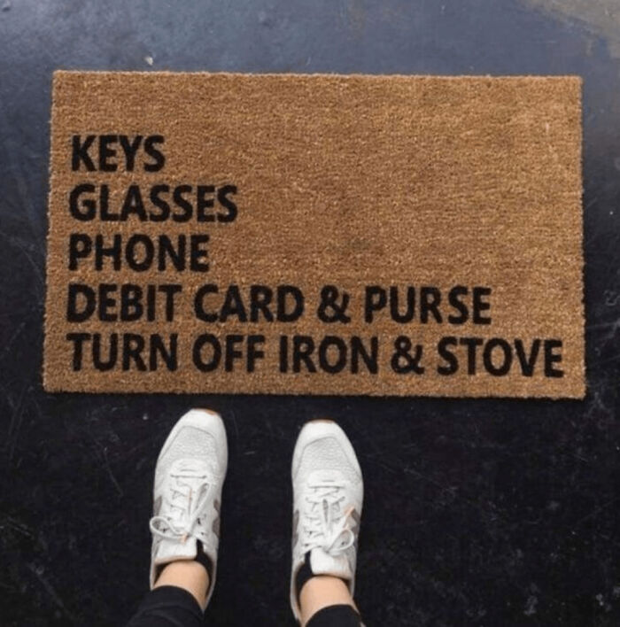 Not Just A Doormat I Want, A Doormat I Need