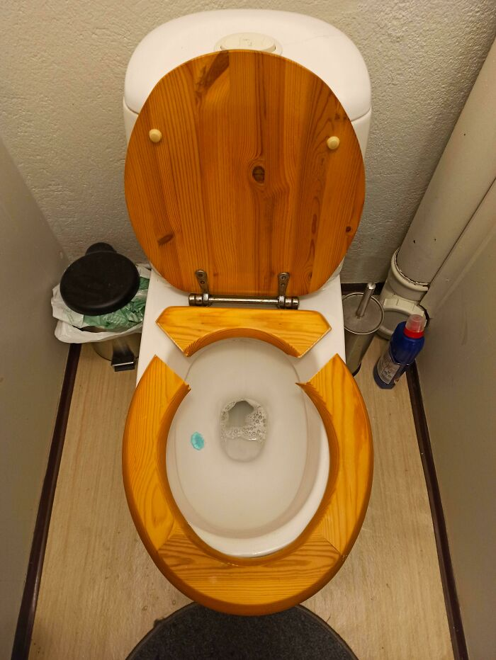 After Losing 1/3rd Of My Weight, I Finally Didn't Feel Too Fat Anymore. The Toilet Disagreed