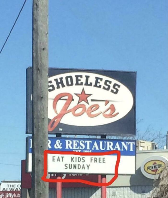 Beware Don't Take Your Kids Here On Sundays
