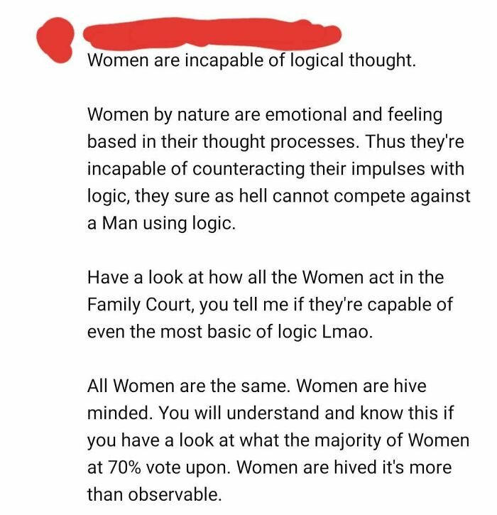 Oh, So That's The Reason Why I'm Bad At Math! I'm A Woman. Obviously