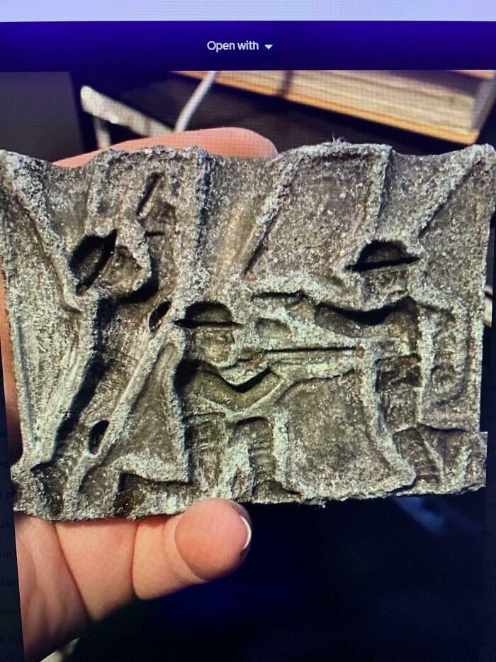 Encontrado detectando metales en un parque de Minnesota donde se han extraído otros objetos de alrededor de 1860