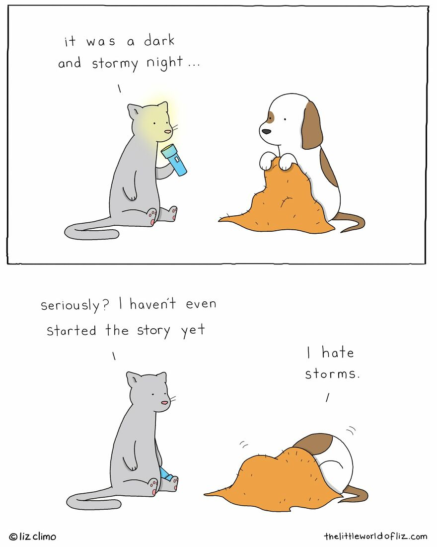"""The Simpsons Illustrator Draws Comics Of Animals That Are So Adorable That All We Can Say Is """"Awww"""""""