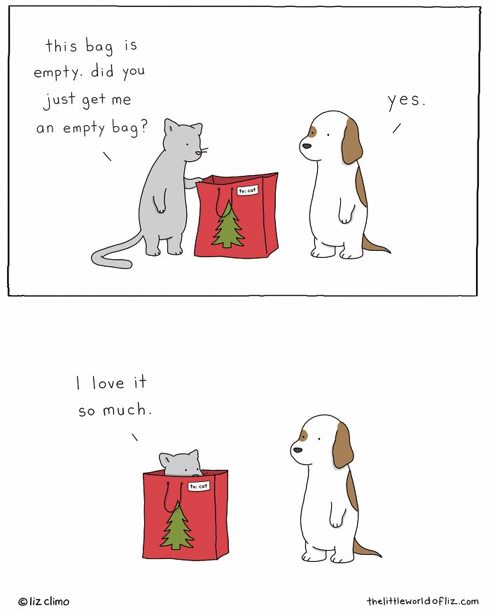 The Simpsons Animator Liz Climo Illustrates Cute Everyday Moments Of Animals, And Her 894k Instagram Followers Love It (110 New Pics)