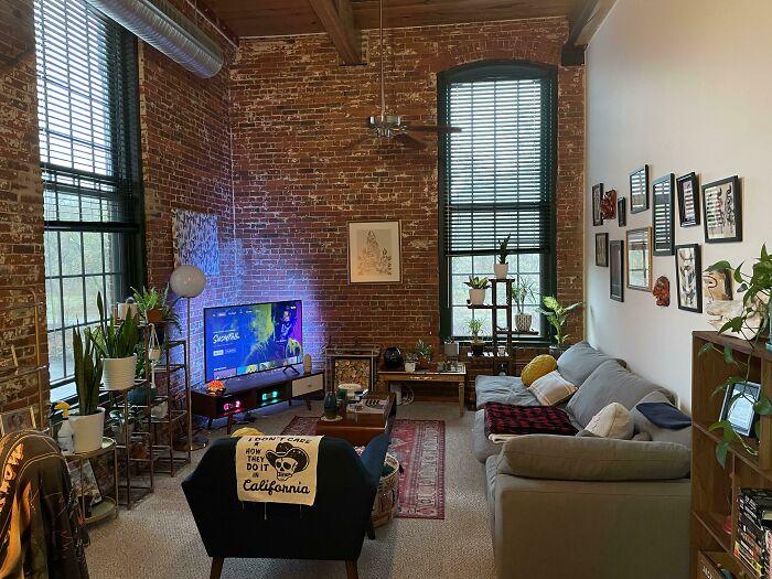 Loft Apartment Living Room Space