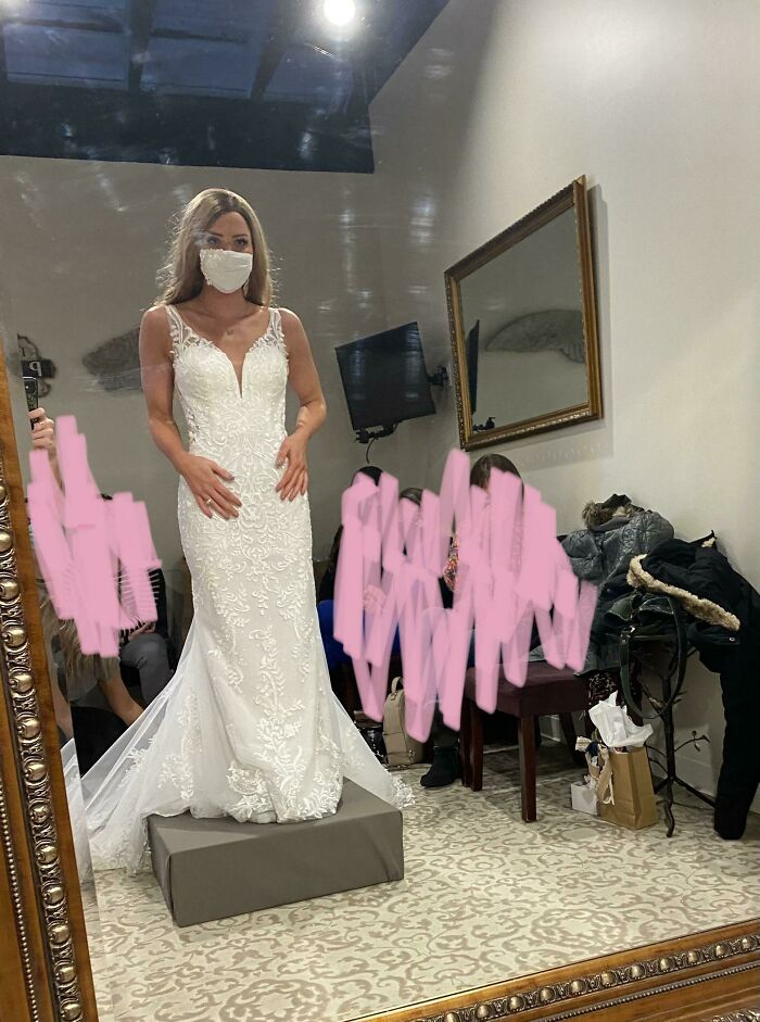 A Week After I Got Engaged, I Found Out I Had Cancer. A Month Ago I Was Able To Try On Wedding Dresses For The First Time, The Day I Wasn't Sure Would Ever Come For Me