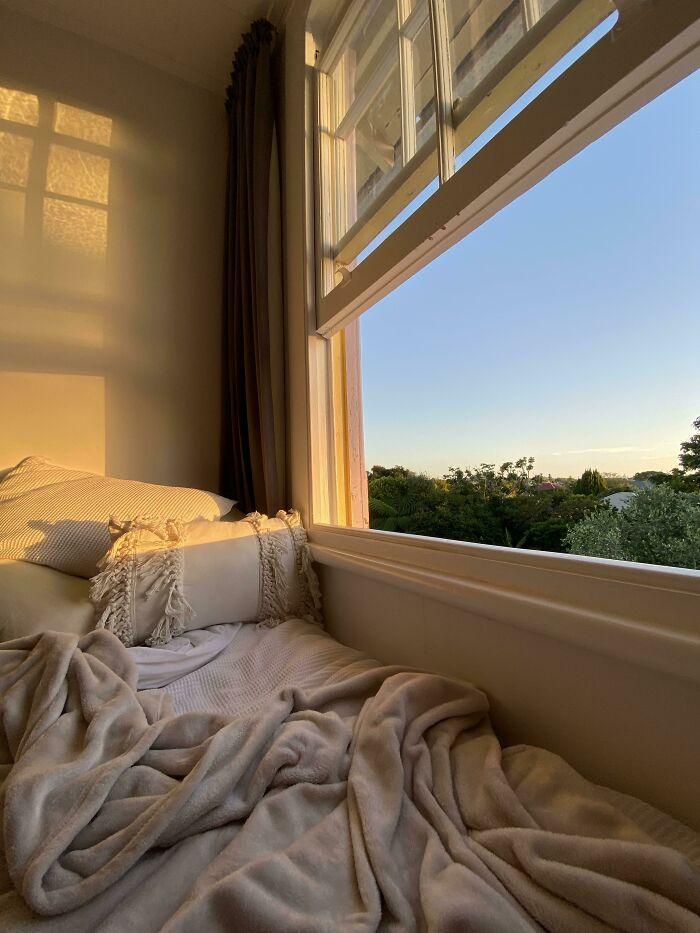 My Bed, Golden Hour On An Nz Summer Evening
