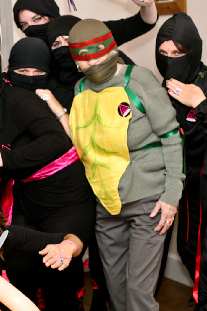 """What My 80-Year-Old Grandmother Did When Told To """"Dress Up As A Ninja"""""""