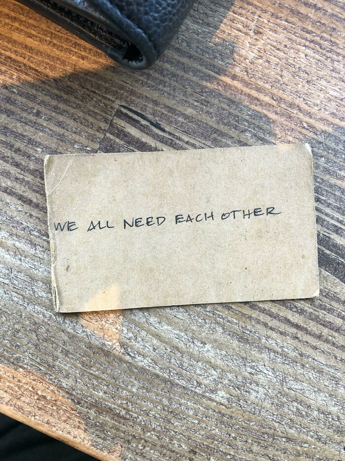 Historicfound This On The Street In Downtown Sd About 4 Years Ago When I Needed It Most. It's Been In My Wallet Ever Since