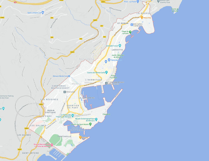 You Can Walk From The North To The South Of Monaco In About An Hour
