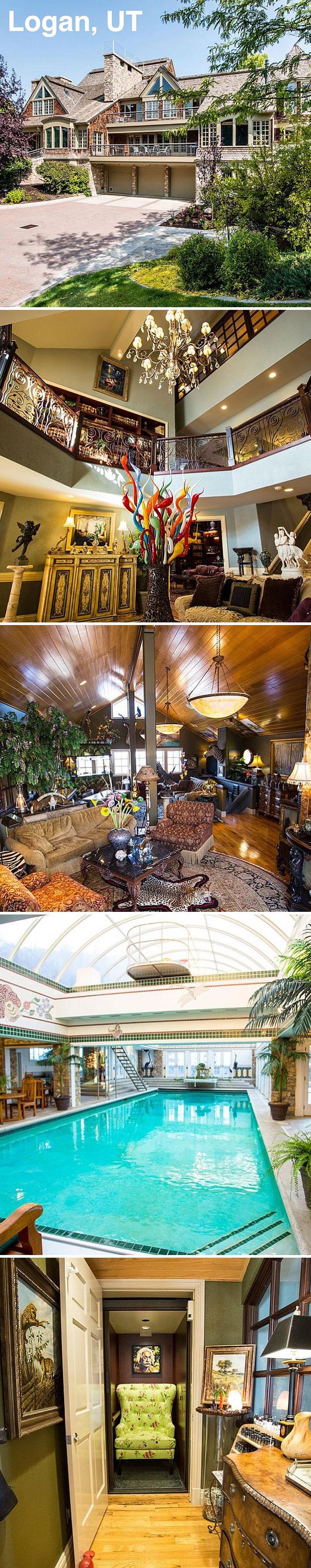What Isn't A Hotel But Feels Like A Hotel? #zgwmansionmondays $5,900,000. 8 Bd, 11 Ba. 19,641 Sf. 8 Bd, 11 Ba