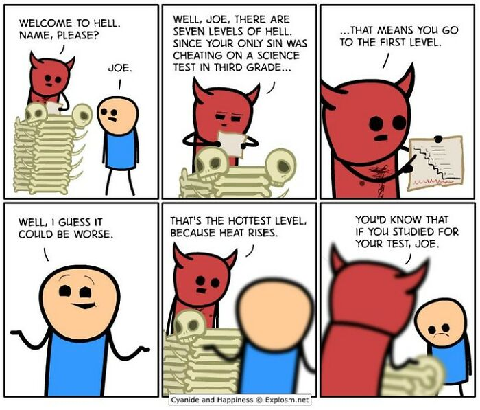125 Hilariously Dark Comics By Cyanide & Happiness