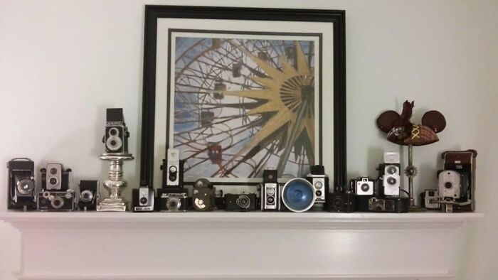 A Small Part Of My Vintage Camera Collection