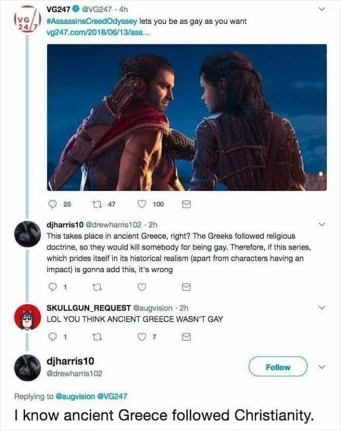 Greece Wasn't Gay