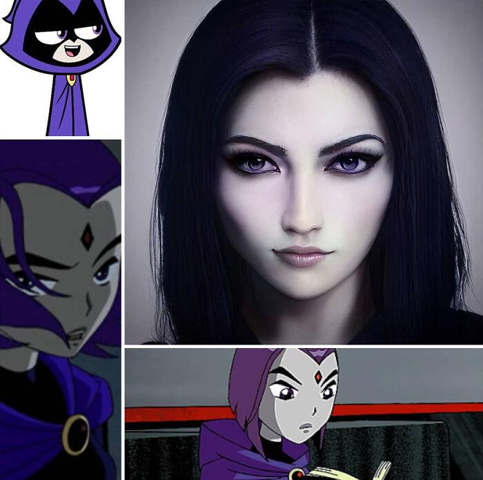 Raven de Teen Titans