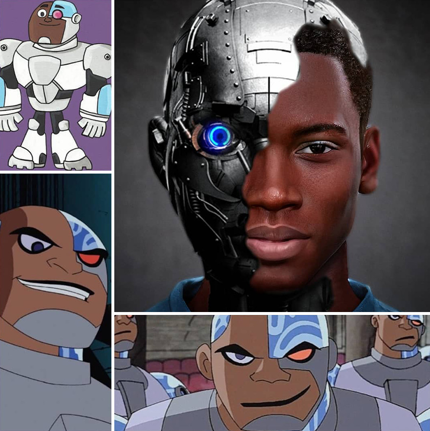 Cyborg From Titans