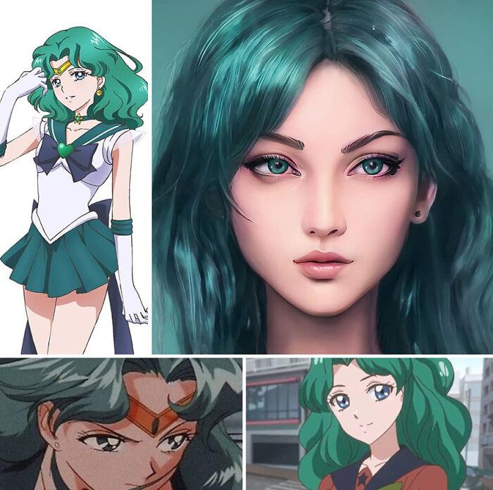 Neptuno de Sailor Moon