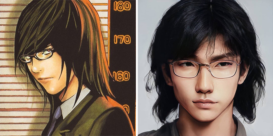 Teru Mikami From Death Note