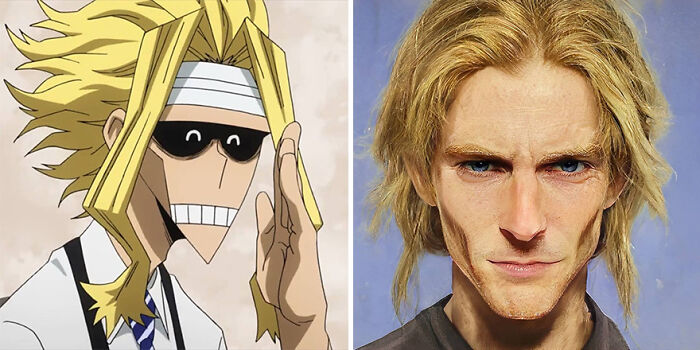 Toshinori Yagi de My Hero Academia