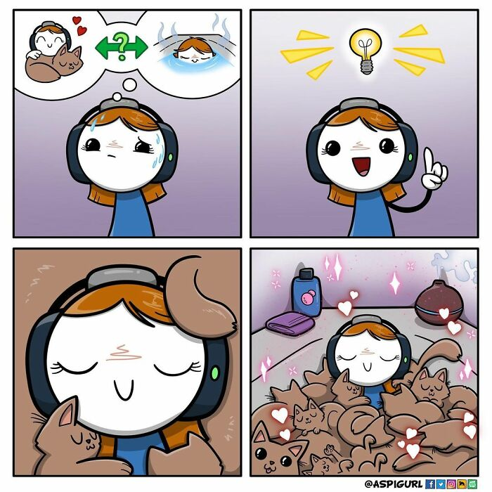 Artist With Autism Illustrates Her Daily Reality In 50 Comics