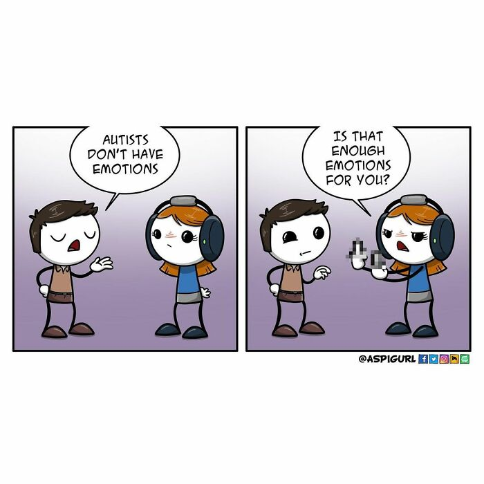 Artist With Autism Illustrates Her Daily Reality In 100 Comics