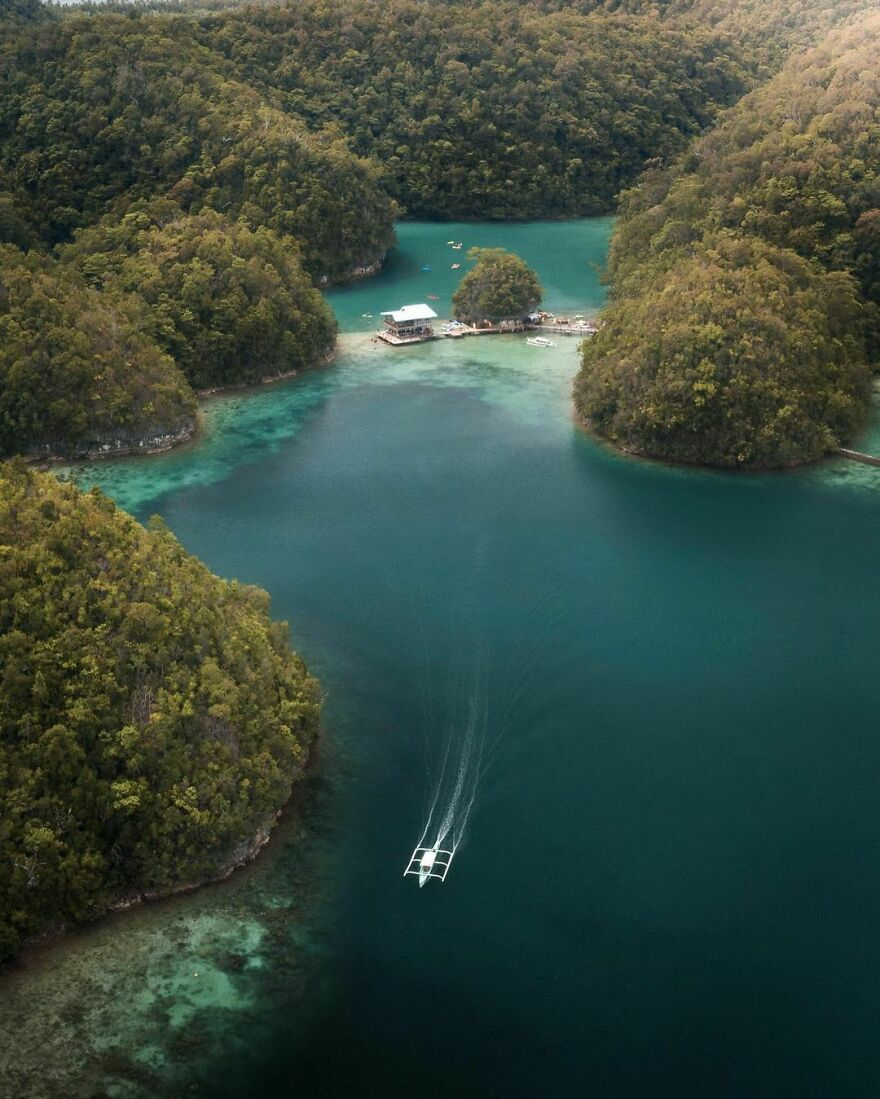 Isolated Lagoons, Philippines