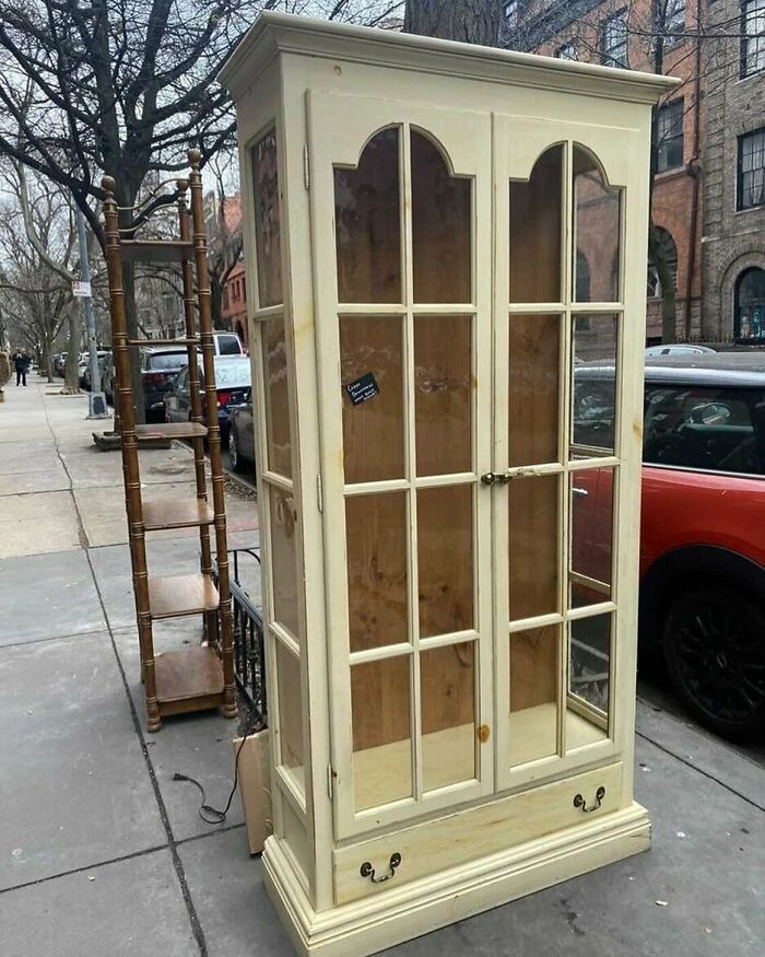 Just Think Of Alllll The Pretty Things You Could Display In This! Outside Carroll Street & 8th In Park Slope!