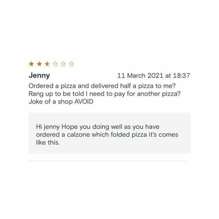 79 Times People Left Takeaway Restaurants Bad Reviews And Unexpectedly Received Their Replies