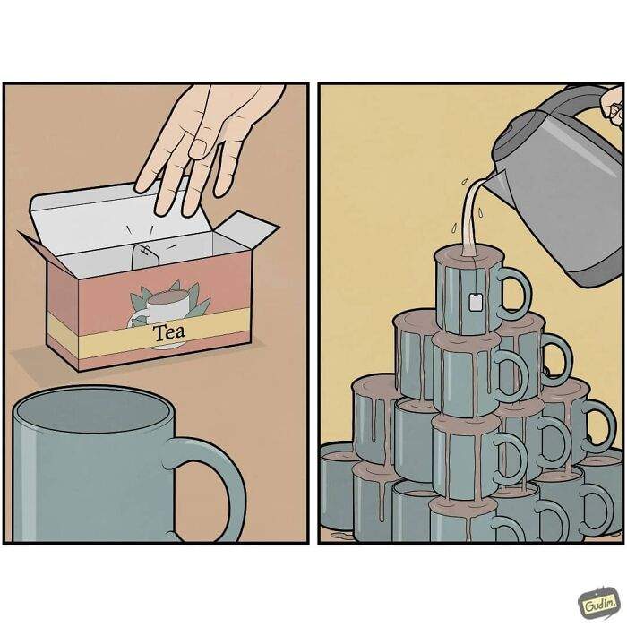 80 More Sarcastic Comics That You Might Need To See Twice To Understand By Gudim