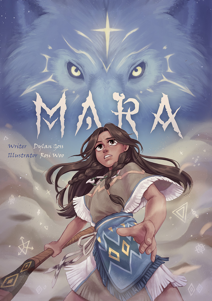I'm Creating Mara – A Webcomic About The Littlest Barbarian!