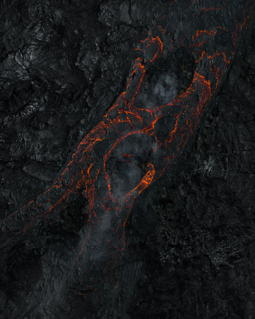 I Flew My Drone Over An Icelandic Volcano