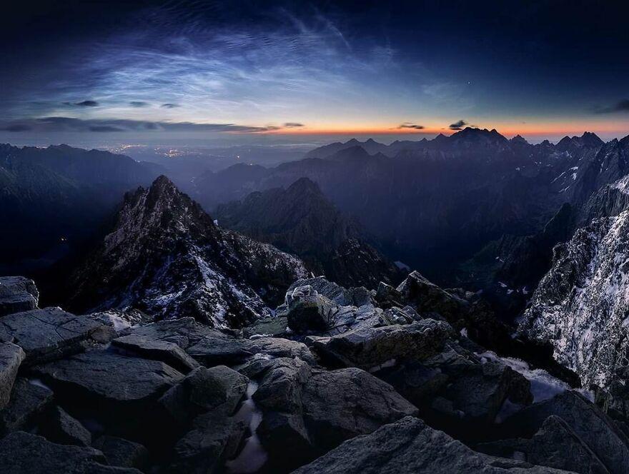 Rysy Mountain,, Tatra