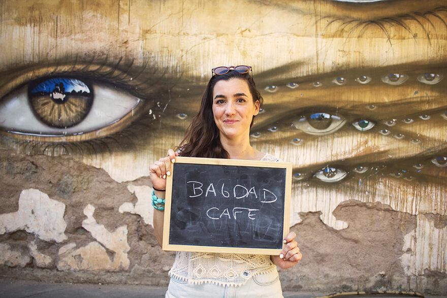 Mathilde, Bagdad Cafe (1987)