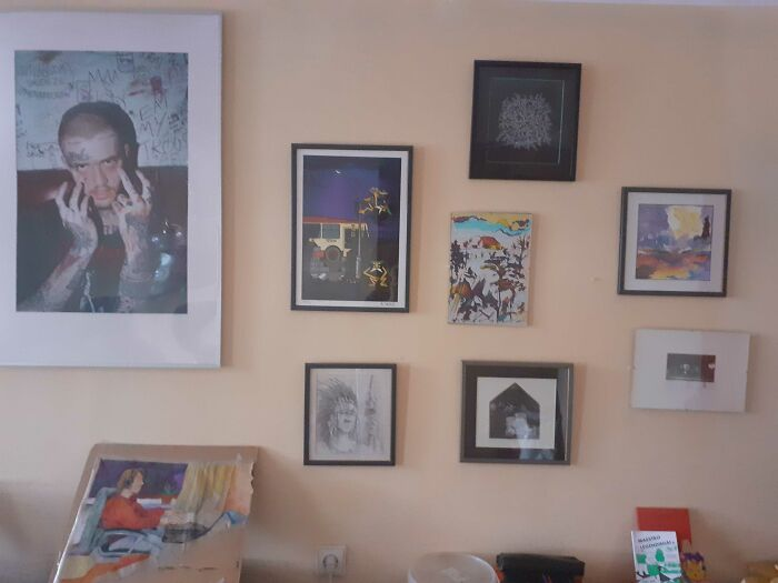 Art Collection From The Local Artists And Friends
