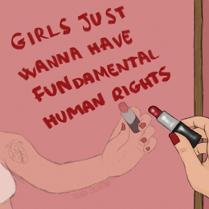 Woman Illustrates Her Life In A Patriarchal Society And The Problems She Faces (84 Pics)