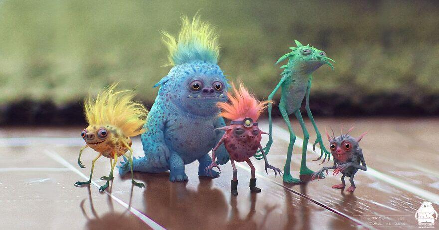 Know Michael Kutsche's Cinematic 3D Art