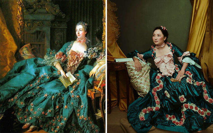 This Anesthesiologist Relaxes By Recreating Historical Clothes Based On The 1700s (45 Pics)