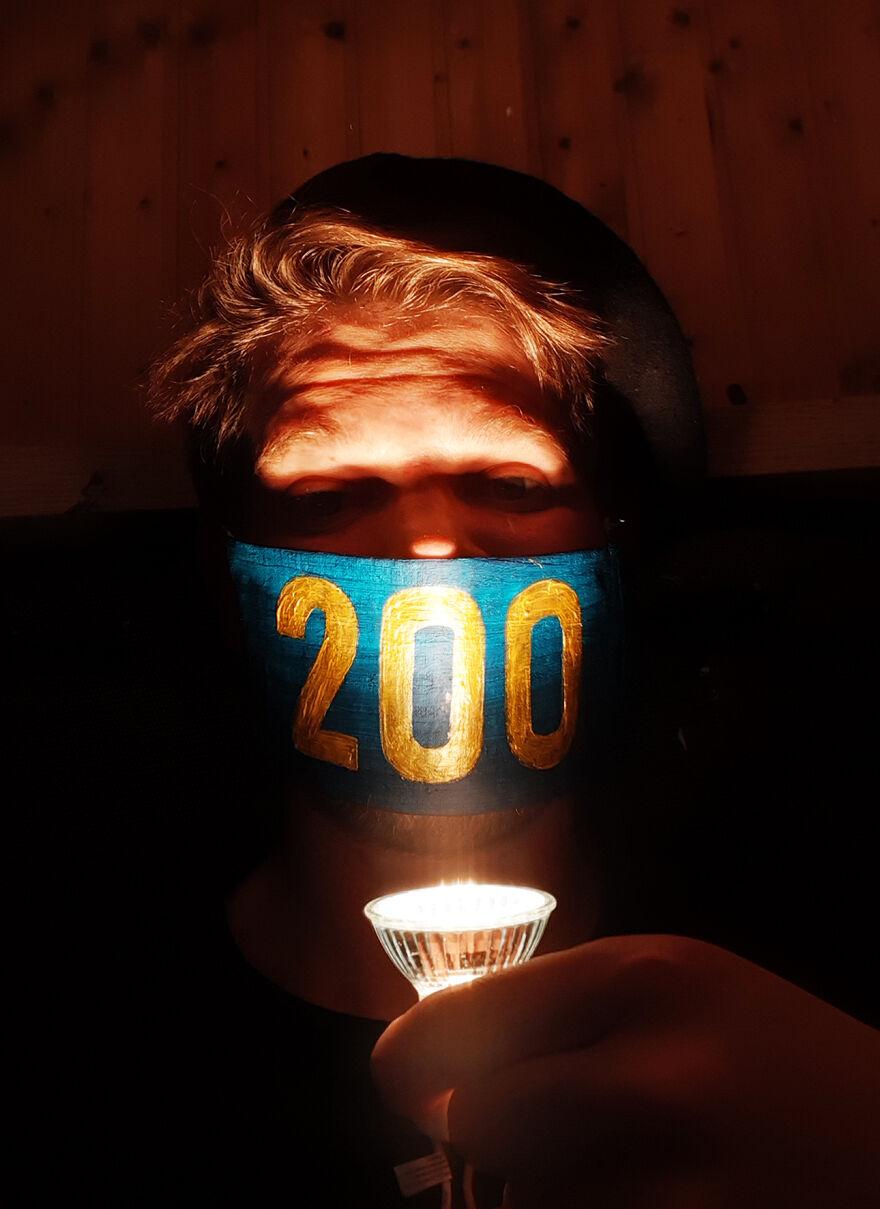 200th Mask