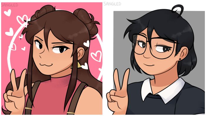 I'm Trash At Drawing So I Used Picrew For This! Tbh I Just Wanna Be A Little More Confident