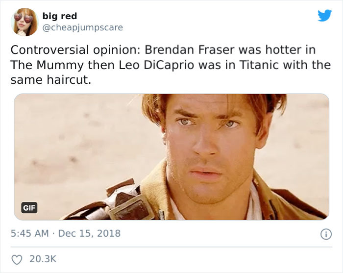Brendan Fraser Is Trending On Twitter Simply For Being Amazing And Here Are 39 Of The Best Tweets About Him