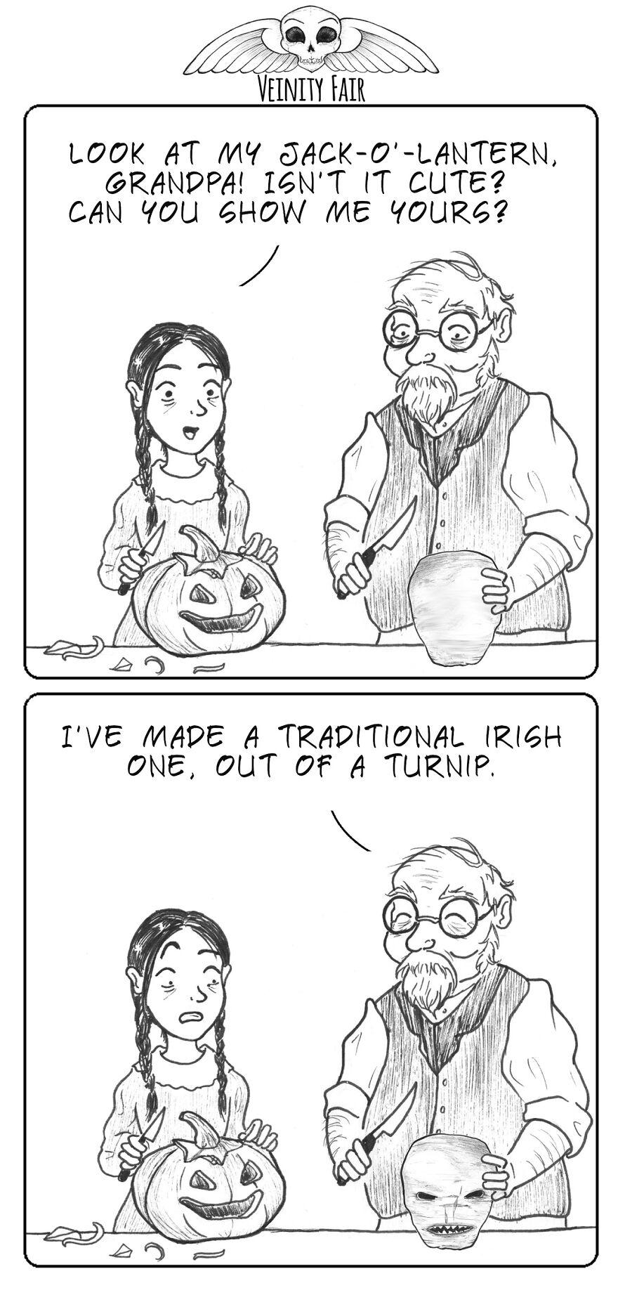 Irish Jack-O'lanterns