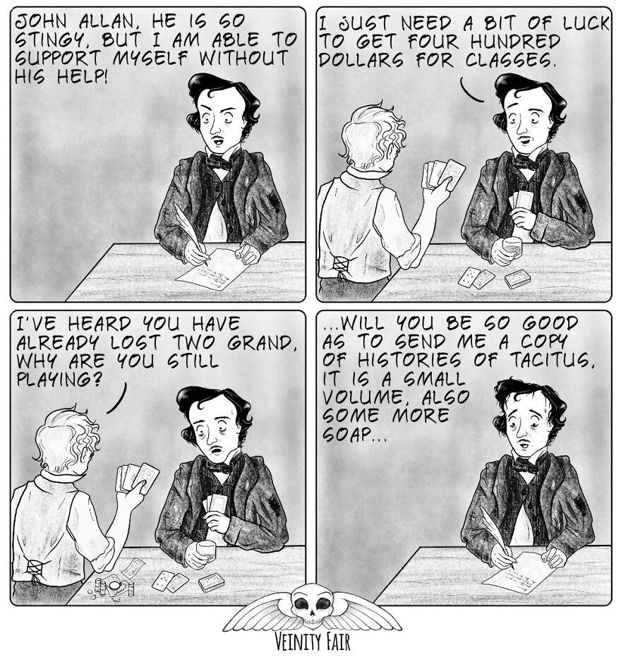 Edgar Allan Poe & Gambling
