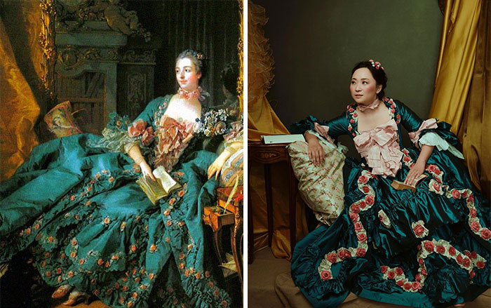 This Anesthesiologist Creates Clothes Based On Fashion Trends In The 1700s (45 Pics)