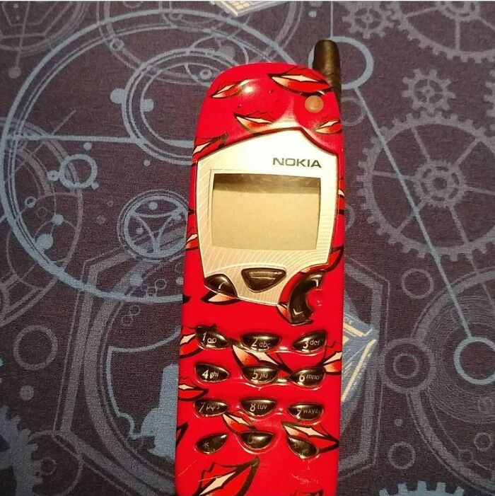 My First Cell Phone Circa 2009.