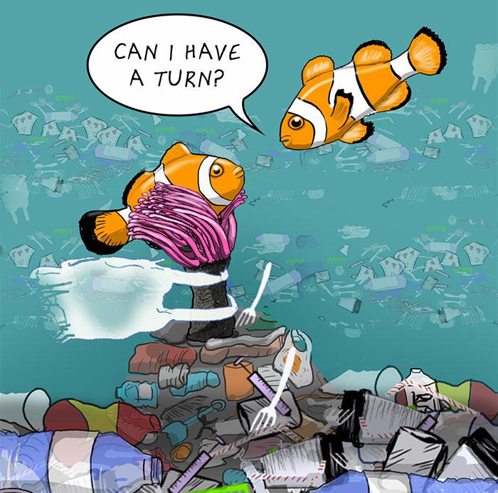 I Draw Comics To Show How Plastic Waste Affects Marine Life (30 Pics)