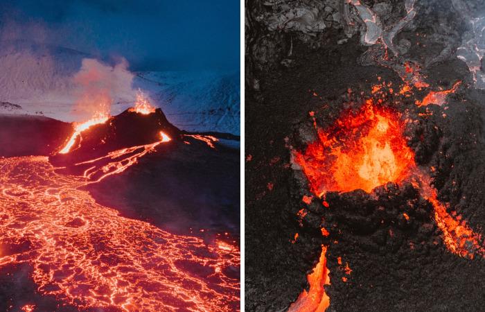 My Photos Of Geldingadalur's Volcanic Eruption